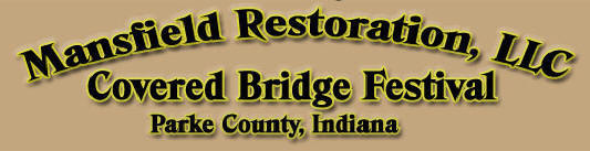 Covered Bridge Festival Indiana Map.Mansfield Covered Bridge Festival Vendor Space Mansfield Covered