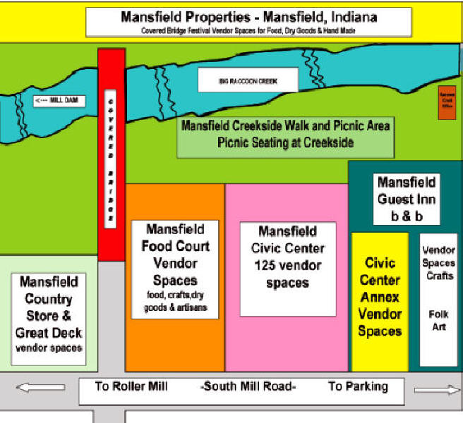 Vendor Page For Mansfield Covered Bridge Festival In Parke County