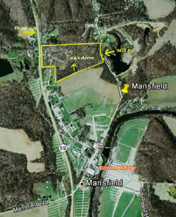 Covered Bridge Festival Indiana Map.Historic Property For Sale Mansfield Indiana